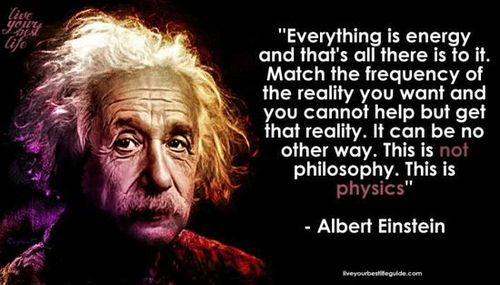 Meme version of an Einstein quotation he definitely never said
