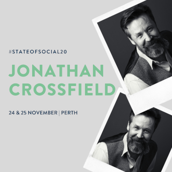 Jonathan Crossfield is a virtual speaker at State of Social 2020. November 24 and 25, Perth, Australia.